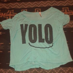 YOLO Crop Top